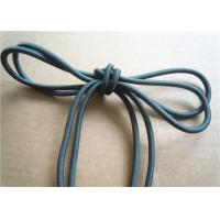 Colored Cotton Cord for garment Braided Fabric Waxed Cotton Cord for Shoelace Manufactures