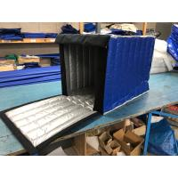 China Dark Blue Insulated PE Roll Cage Cover 2.8 Kg Gross Weight For Fruit Food Industry on sale