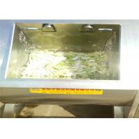 China Sanitary Cleaning Vegetable Wash Line , Lettuce Washing Machine For Industry on sale