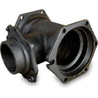 AWWA C153 Cast Iron Pipe Fittings Mechanical Joint Pipe Fitting MJ x MJ Tees Manufactures