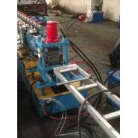 Hydraulic Quick Punching Metal Shutter Door Roll Forming Machine Single Profile Holes Manufactures
