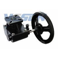 Cast Iron Declutchable Manual Override Gearbox For Pneumatic Rotary Valve Actuators Manufactures