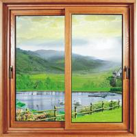 China Kitchen Household Sliding Sash Window Powder Coating /  Reflective Glass Double Slider Window on sale