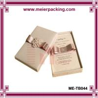 Presention luxury jewelry gift box/Birthday favor printed paper box ME-TB044 Manufactures