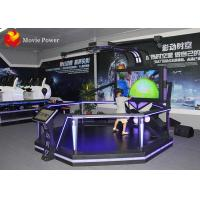 Virtual Reality Cinema 2 Handles VR Theme Park Equipment HTC VIVE VR Game Station Manufactures