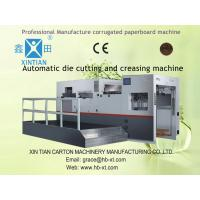 Die-Cutting Automatic Corrugated Box Forming Machine High Speed Manufactures