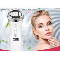Portable Radio Frequency Face Lift Device , Ultrasonic Ion Face Beauty Stimulator