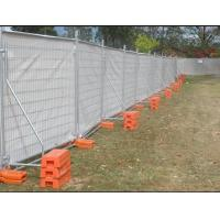 Temporary Fence With Plastic Feet Easy To Install And In High Security Manufactures