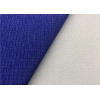 Ripstop Cationic Super Stretch Fabric Waterproof Membrane Bonding In Dark Blue Manufactures