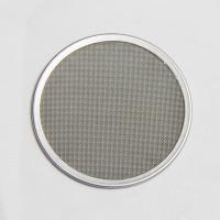 Metal Porous Wire Mesh Filter Disc Corrosion Resistant Customization Support Manufactures