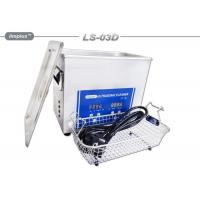 Portable 3L Ultrasonic Cleaner Electronics Diesel Fuel Injector Cleaning Manufactures