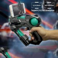 China Virtual AR Game Light Up Toy Gun Bluetooth Compatible With IPhone Android Smart on sale
