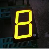 Small Single Digit 7 Segment LED Display , Numeric Led Display 500 mm Manufactures