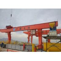 China 10 Ton Overhead Gantry Crane Compact Construction With 12 Months Warranty on sale
