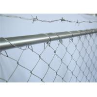 Buy cheap 6' x 12' construction fencing panesl 41.2mm outer tube wall thick 1.6mm mesh 3