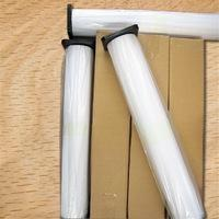 150gsm Enhanced Adhesive Synthetic Paper , Inkjet Printing White Banner Paper Roll Manufactures