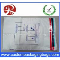 China Opaque Plastic Security Custom Packaging Tamper Evident Bags on sale