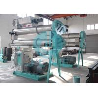 Ring Die Fish Feed Processing Machine With Full SS Conditioner High Output for sale