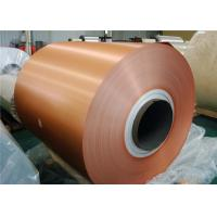 Temper Aluminum Siding Trim Coil / Mirror Finish Coil Coated Aluminium For Anodizing Manufactures