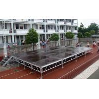 Waterproof Movable Stage Platform , Folding Stage Aluminum T6082-T6 Manufactures