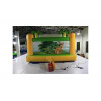 China Hawaii Coconut Tree Tropical Style Inflatable Bounce House For Children on sale