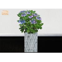 Quality Clay Floor Vases Homewares Decorative Items Fiberclay Flower Pots Clay Plant for sale