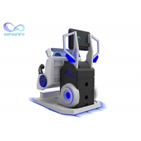 Motion Chair Interactive 9D Cinema Virtual Reality Simulator 360 Degree Manufactures