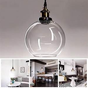 China G9 screw clear borosilicate glass ball lamp shade lighting /light shade in glass on sale