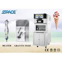 Floor Standing Commercial Soft Serve Ice Cream Machine Three Flavors Manufactures