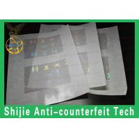 High quality adhesive RI / GA ID hologram overlay manufacturer the safety shipping Manufactures