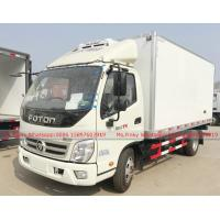 China FOTON OLING Light Cooling Box Truck for Hatching Eggs 103HP Petrol Gasoline Engine on sale