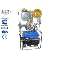 350N Overhead Line Construction Tools Self Moving Elevator Geared Traction Machine Motor Manufactures