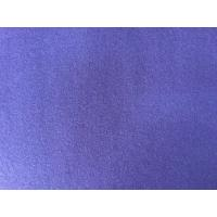 390g/M English Wool Fabric Purple Color , Heavy Wool Fabric Super Soft Manufactures
