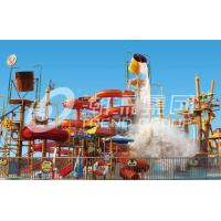 Quality Exciting Aqua Water Park Water Fortress for Amusement Park Equipment for sale