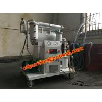 Portable insulating oil filtration system ,oil purifier to improve oil dielectric strength, low operation c Manufactures