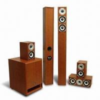 5.1 Home Theater System with PVC Vinyl Finish, Measures 6 x 9 inches Manufactures