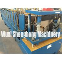 Galvanized Metal Steel Roof Tile Roll Forming Machine For Ridge Cap Manufactures