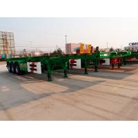20ft 40 ft size fuwa axle skeletal container trailer - CIMC Vehicle Manufactures