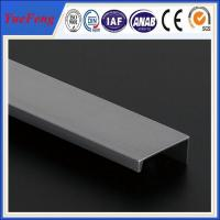 New design 6063 or 6061 aluminum extrusion profiles for aluminum roll up door Manufactures