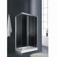 China Shower Room/Enclosure, Made of Aluminum Alloy, Tempered Glass and ABS + PMMA on sale
