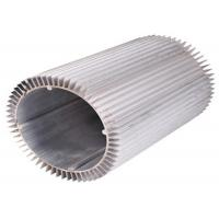 Anodizing Drilling Extruded Aluminum Heatsink Round 6063 T6 Manufactures