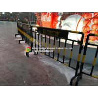 Customized Steel Pipe Fence / Railing , Roads Galvanized Steel Fence Manufactures