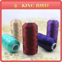 China Mercerized Machine commercial embroidery thread various color on sale