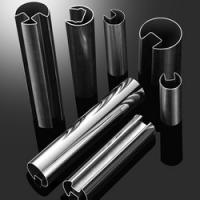 high quality 304 316 stainless steel round slotted tube and SS pipe for glass railing Manufactures