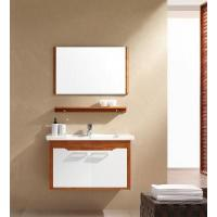 Buy cheap Solid Wood Bathroom Cabinet / Furniture / Vanity (MJ-165) from wholesalers