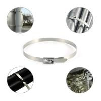 Nylon Coated Releasable Stainless Steel Cable Ties Manul - Locking Good Insulation Manufactures