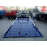 Low angle full land flatbed wrecker titl tray recovery tow truck Manufactures
