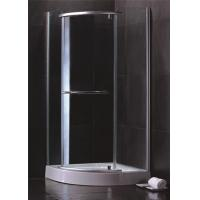 Quality Single Sliding Door Quadrant Shower Enclosures Hinged Open Style Elegant for sale