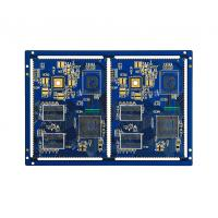 Electronic Printed Circuit 6 Layer Pcb With Half Hole Module Communication Manufactures