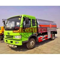 6 - 10cbm Brand New Fuel Gasoline Truck 4x2 Driving Type Optional Refuel Device Manufactures
